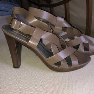 Bandolino Heeled Strappy Sandal Size 8.5